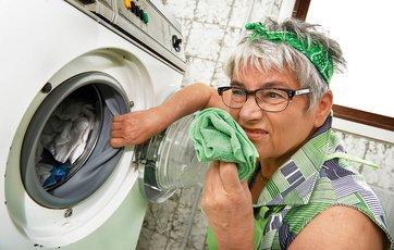 rengøring af gummiring vaskemaskine