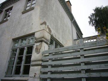 pudset facade vedligehold
