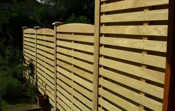 Ultra Plankeværk og faste hegn WP81