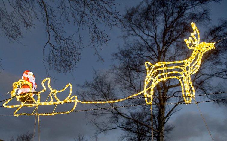 Lækker Hvad koster udendørs julelys i strøm? MP-67