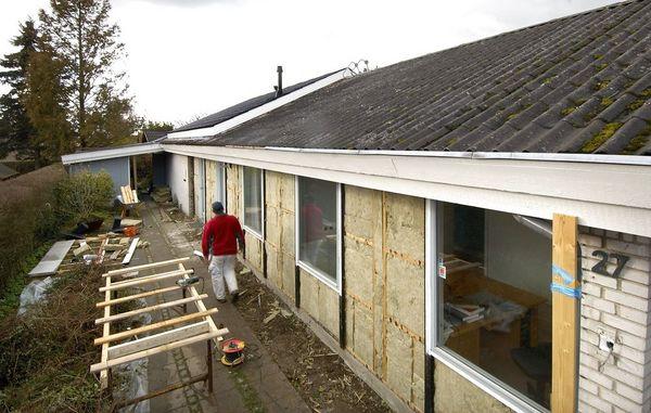 Splinterny Sådan isolerer du husets ydervægge udefra RA41