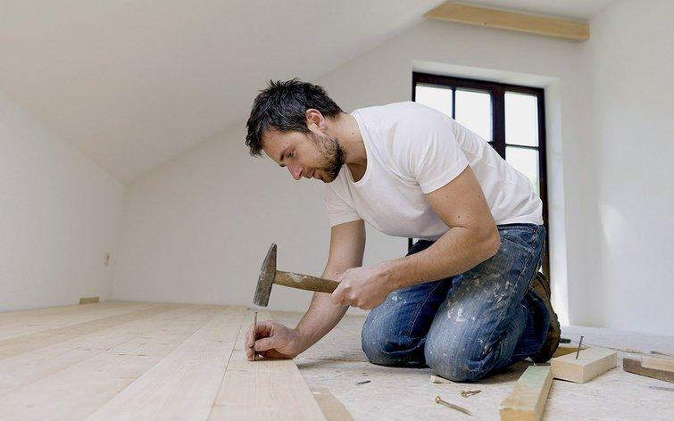 nyt gulv ovenpå trægulv