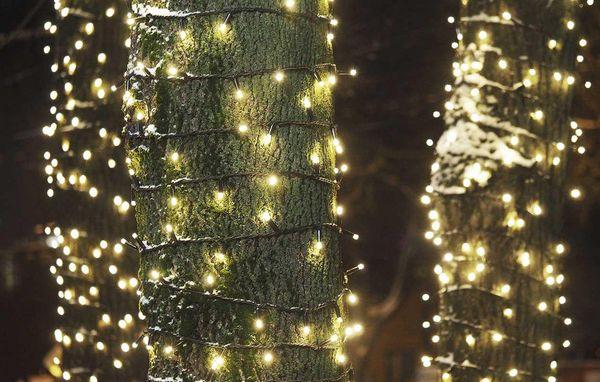 Fantastisk 10 gode råd om udendørs julelys og lyskæder TE42