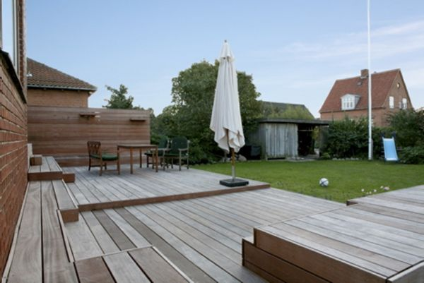Terrasser af træ