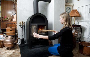 Ultra Generelt om brændeovne og pejse EN05