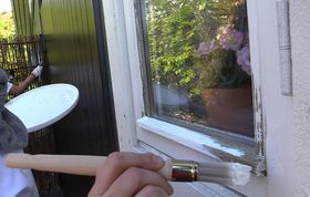 maling af vinduer udendørs pris