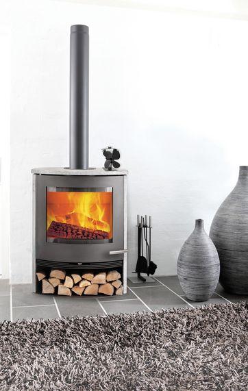 Alle nye Kan du spare på varmen med en varmemølle på brændeovnen? TU49