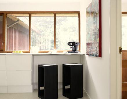 afstand mellem køkkenbord og kogeø