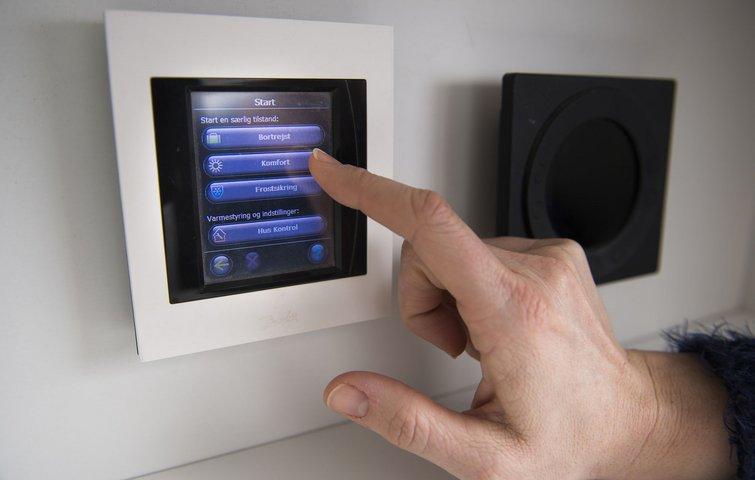 Hvordan tilslutter du en ny termostat