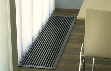 Meget Gulvkonvektor (radiator i gulvet) AF95