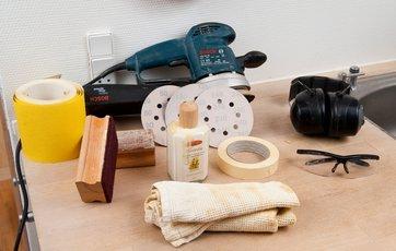 Gør det selv: Sådan sliber du køkkenbordpladen