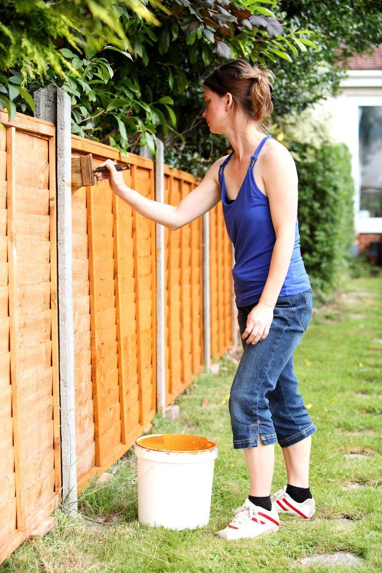 Lækker Skal du have plankeværk eller et fast hegn? GE-22
