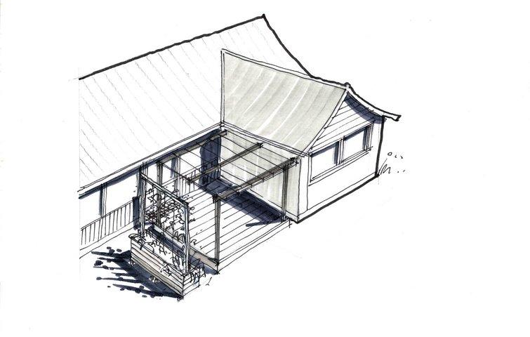overdækket terrasse hvordan