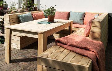 Byg dine egne havemøbler