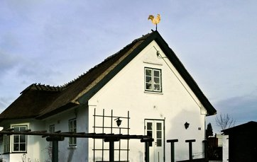 maling til vandskuret hus