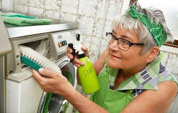 min vaskemaskine lugter råddent
