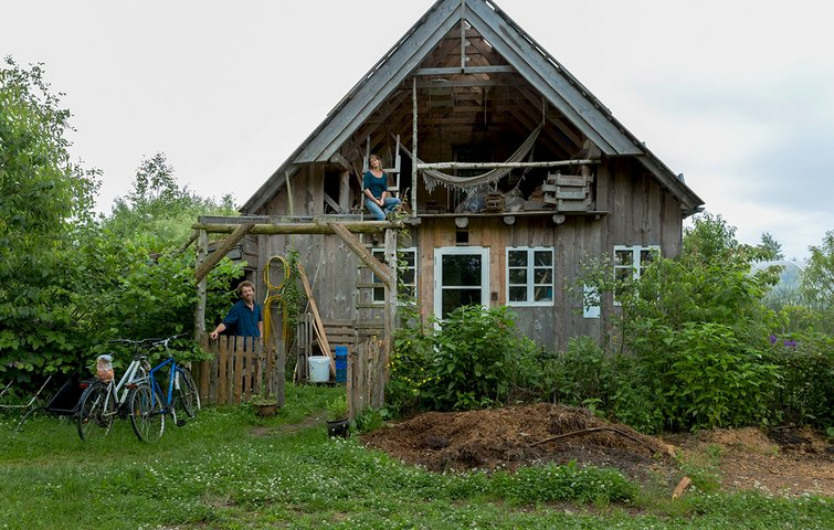 Hjem dyrket huse