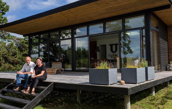 Nyt sommerhus med havudsigt til under en million