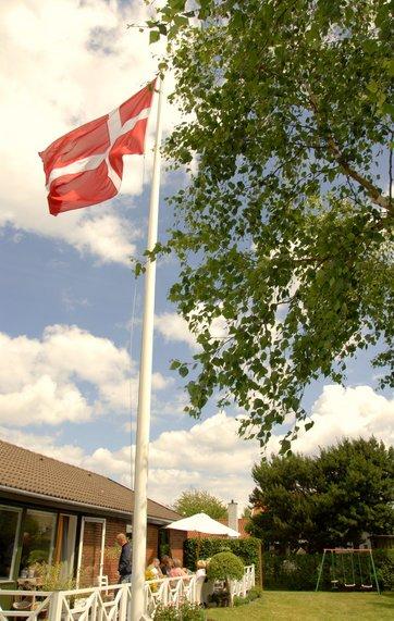 flag størrelse i forhold til flagstang