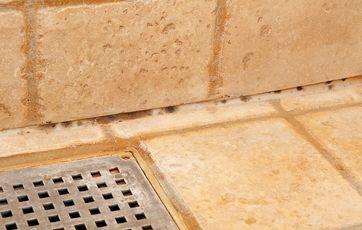 rengøring af badeværelse fuger