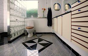 dørtrin badeværelse