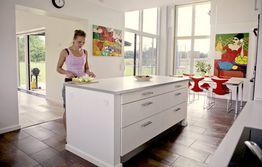 Sådan indretter du køkkenet praktisk