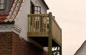 Sådan får du en ny altan til dit hus