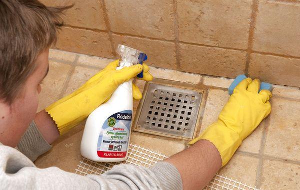 Utroligt Misfarvede fuger på badeværelset PE32