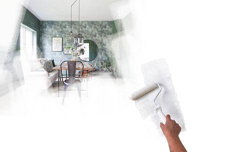 rengøring af vægge