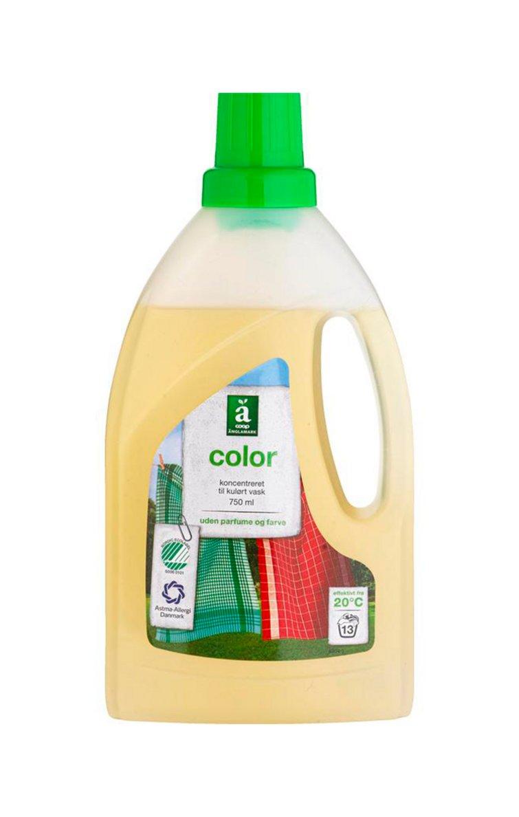 flydende vaskemiddel test
