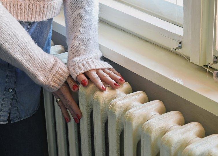 hvor stor radiator